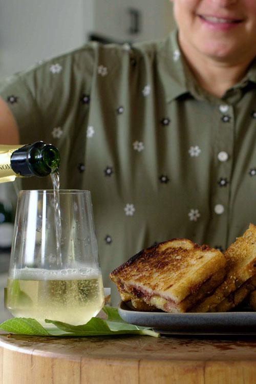 Grilled Cheese & Mostarda d'Uva